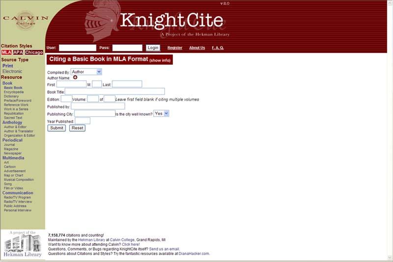 apa website citation generator